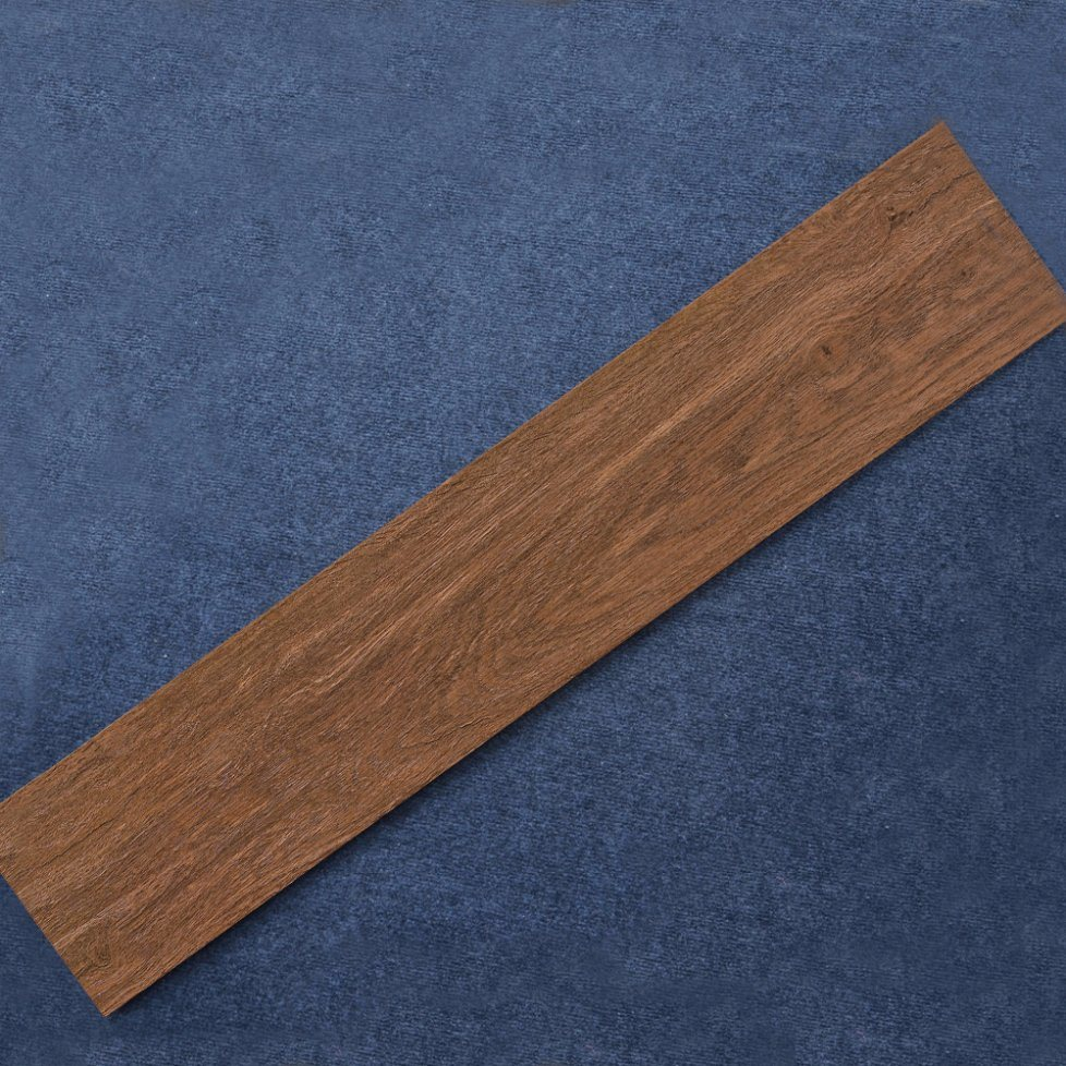 China Porcelain Wooden Grain Texture Tile Flooring Teak Wood Floor Tiles Ceramic Style