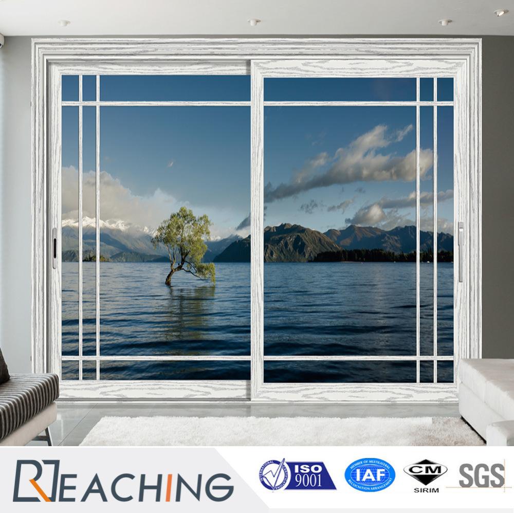 China Top Interior Or Exterior Aluminum Tempered Glass Sliding Door