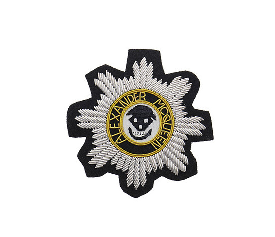 China Bullion Wire Hand Embroidery Military Badges Photos & Pictures