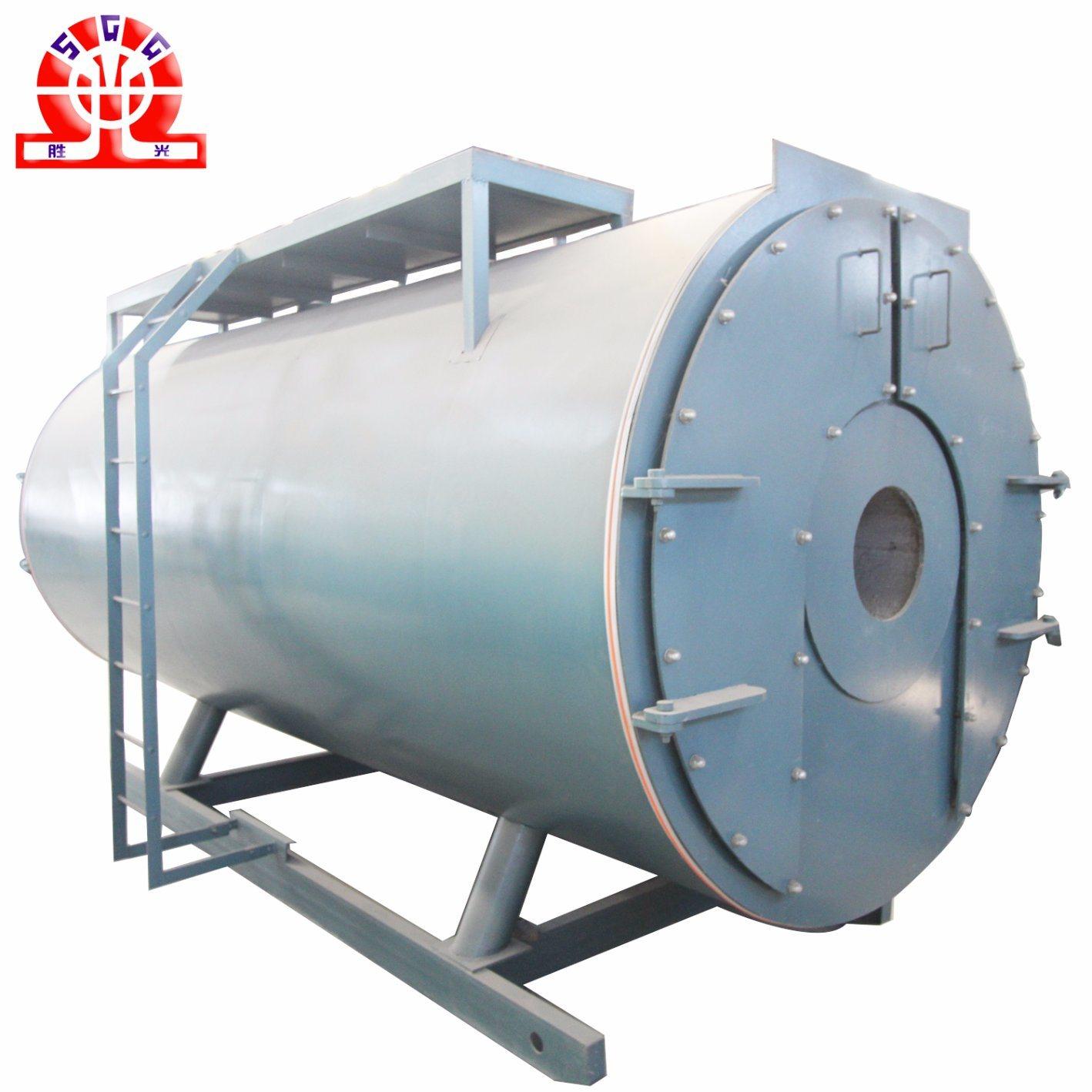 China 3 Pass Dual Fuel Horizontal Steam Boiler - China Stainless ...