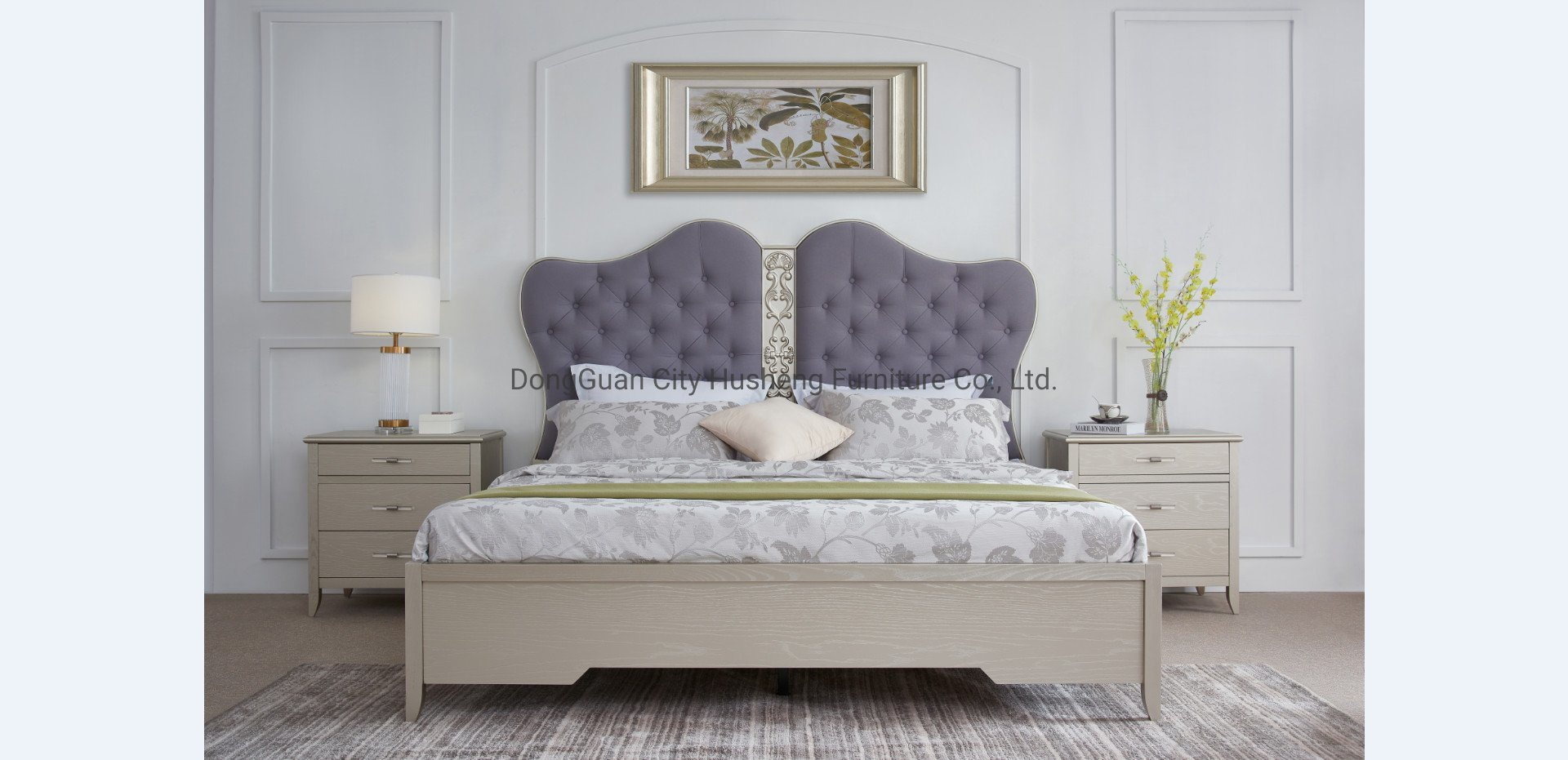 China 2020 New Design Modern Simple Bed Home Bed Hotel Bedroom Furniture Set Photos Pictures Made In China Com