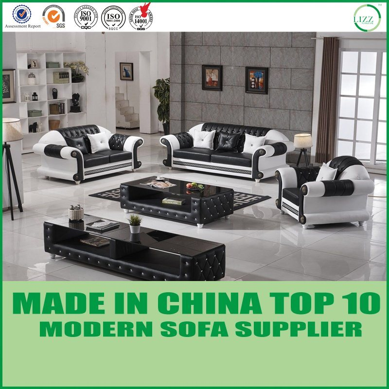 China Miami Design Sectional Leather Sofa Home Furniture China