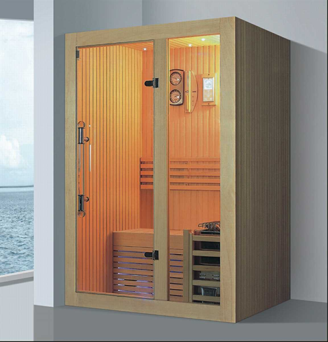 Solid Wood Sauna Room with Customized Size (AT-8632)