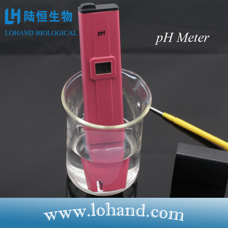Wholesale Portable Red Color Aquarium pH Meter