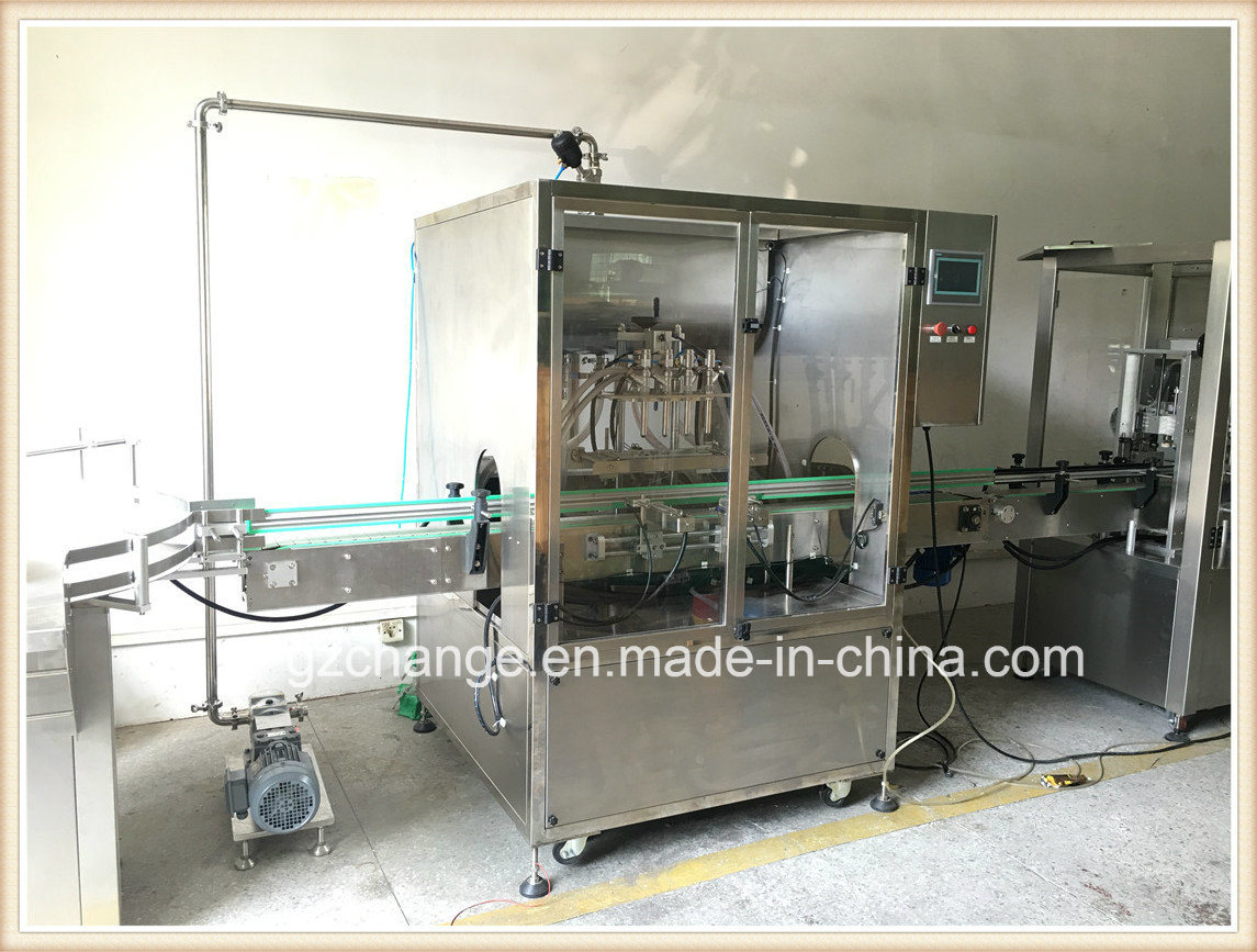 Shampoo Detergent Bodylotion Hair Conditioner Filling Capping Labeling Machine pictures & photos