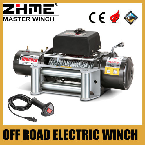 China For Jeep Off Road 10000lbs Electric Truck Winch 12v Drawing