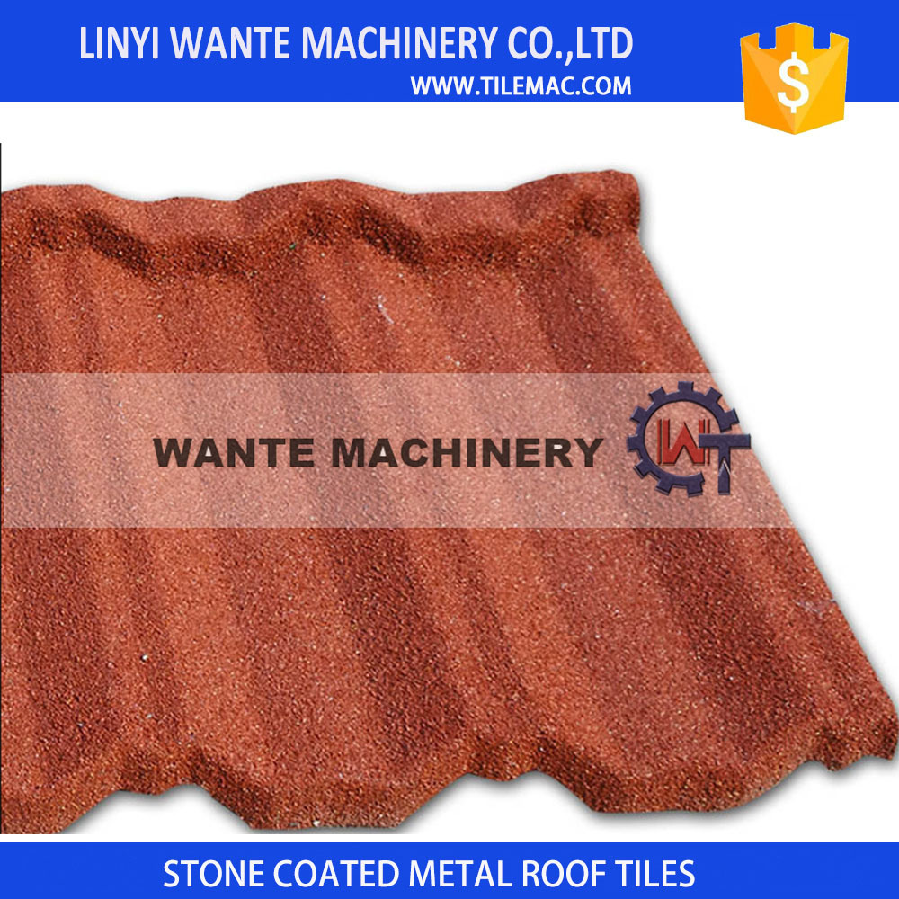 China Fire Resistance Stone Coated Ceramic Roofing Tiles For Roof