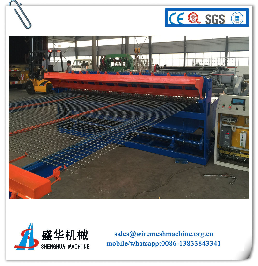 China Welded Mesh Sheet Machine (low carbon steel wire) - China ...