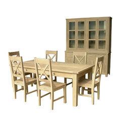 China Oak Buffet Hatch And Dining Table Set China Oak Furniture