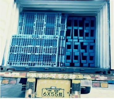 1200X1000 Singled Heavy Duty Rack Plastic Pallet pictures & photos