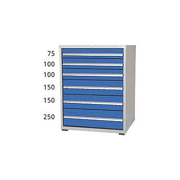 Metal Tool Storage Cabinets 6 Drawers