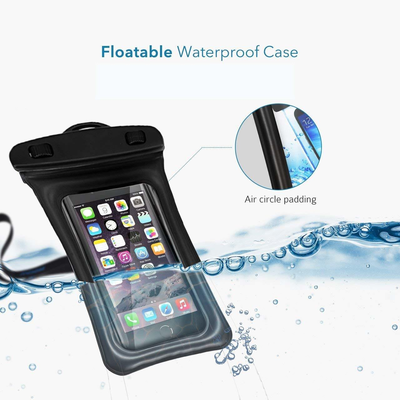 get cheap 3bb7d f6c3e [Hot Item] Waterproof Phone Pouch, Floating Waterproof Case Waterproof  Phone Case Available TPU Clear Dry Bag for iPhone X/Xs/Xs Max/Xr/8/8plus/  ...