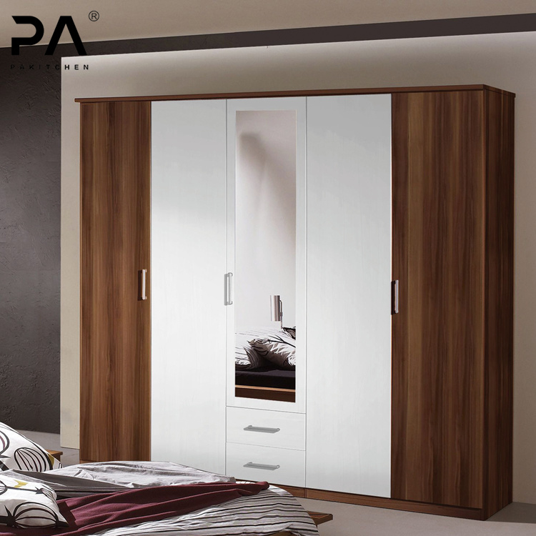 China Modern Bedroom Furniture Mirror Swing Door Wardrobe Made In Guangdong Foshan China Wardrobe Closet
