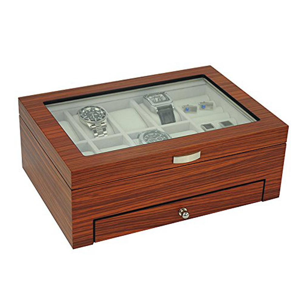 Executive Watch and Jewelry Box Organizer Gift (Jet) pictures & photos