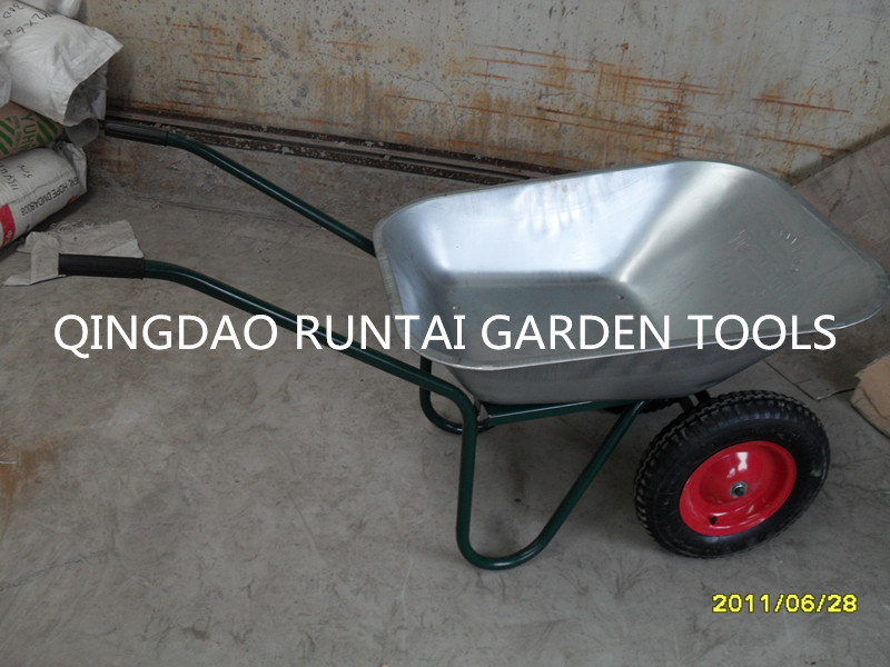 High Quality Two Wheels Wheelbarrow (Wb6410)