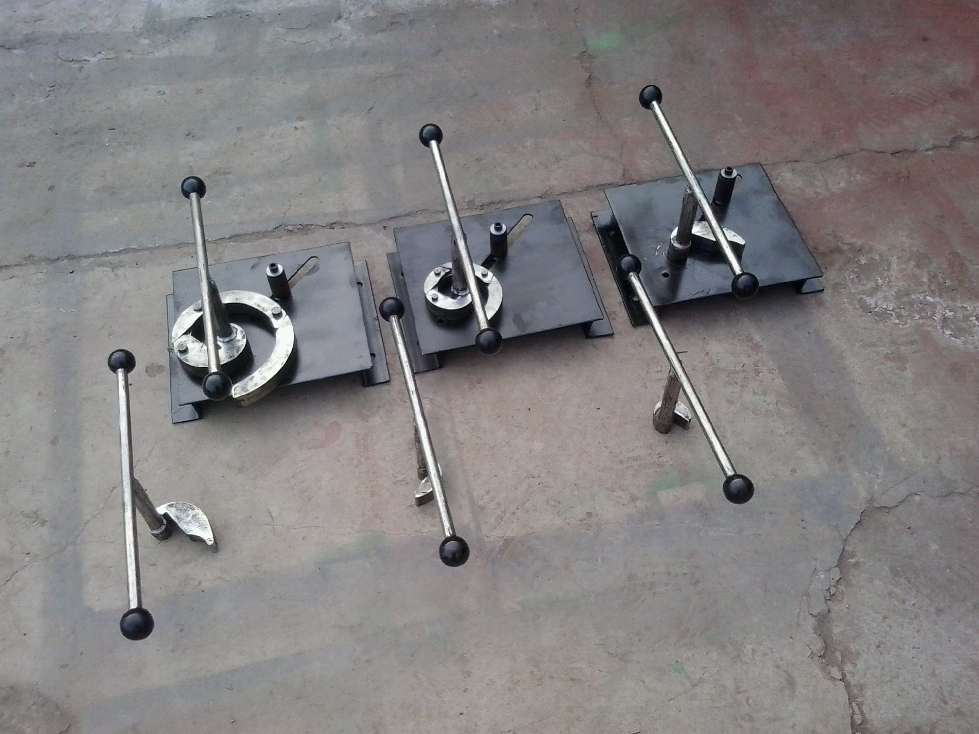 Manual Wrought Iron Machine/Iron Craft Tools pictures & photos