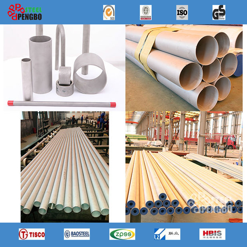 304 316 316L 321 Seamless Stainless Steel Pipe for Decoration pictures & photos