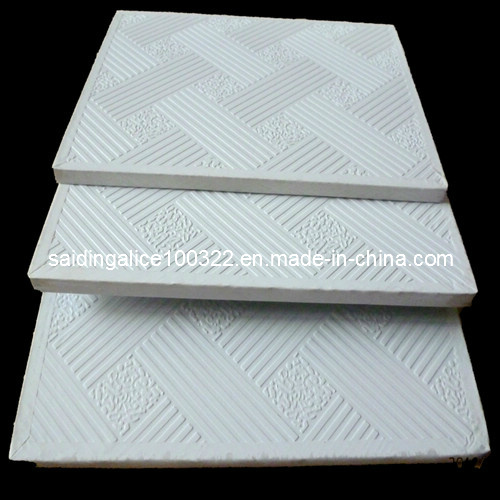 Pvc Vinyl Coated Laminated Gypsum Ceiling Tiles No 996