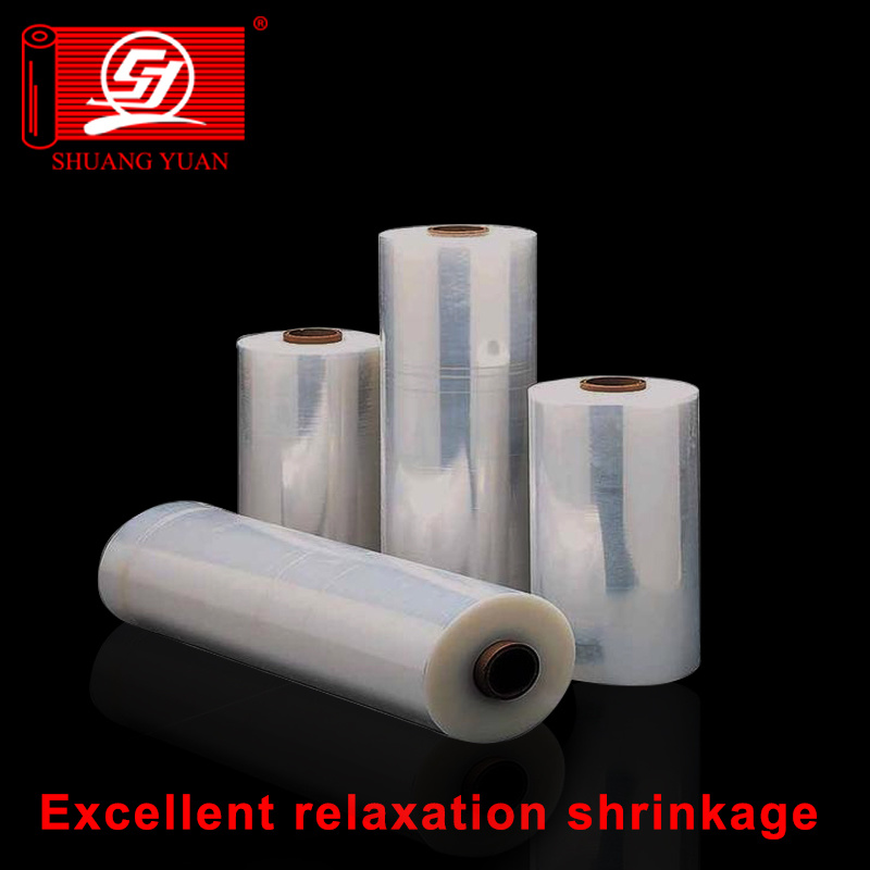 Sz Shuangyuan packaging 100% Virgin Stretch Wrapping LLDPE Film