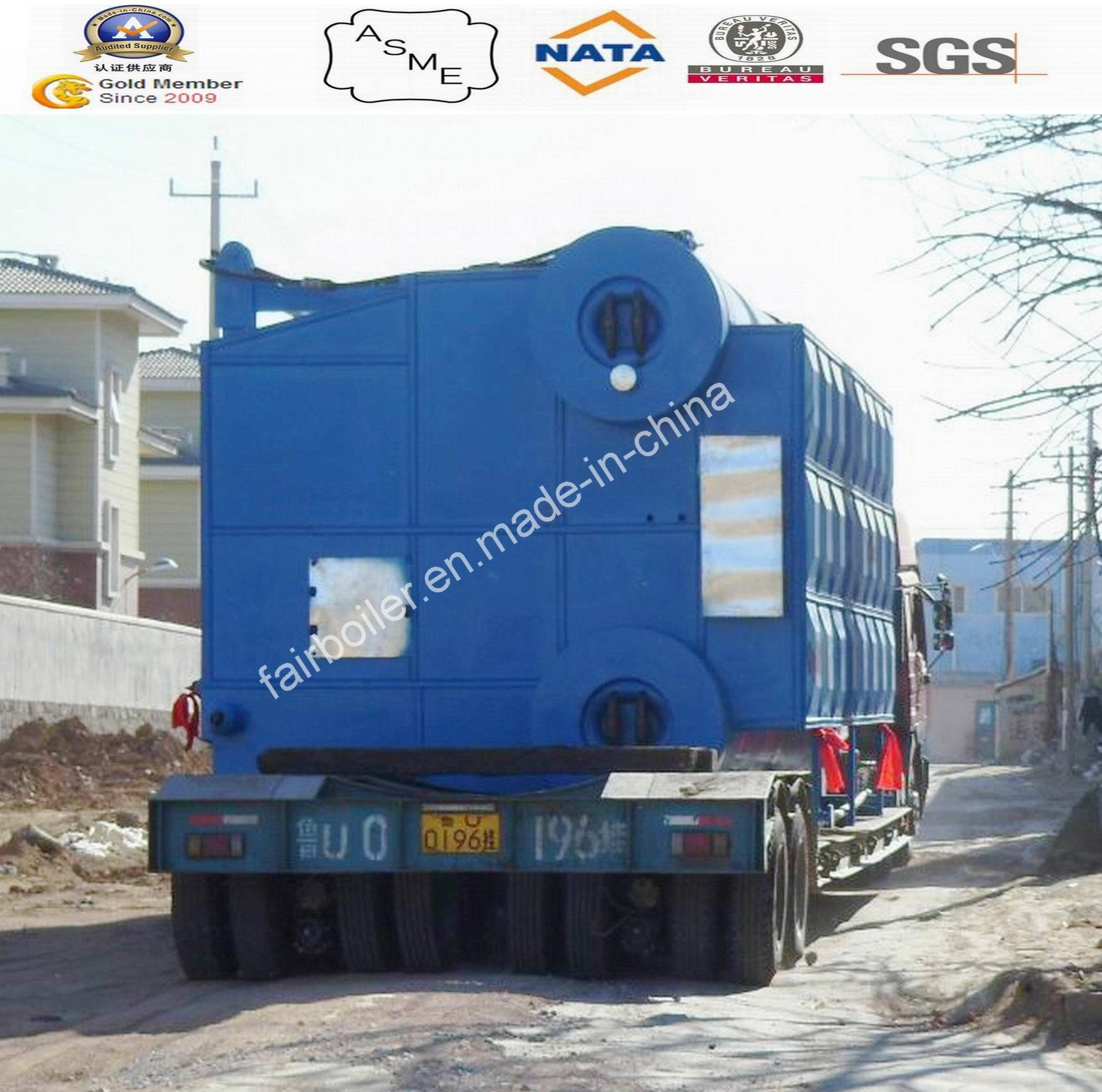 China Szl D Type Coal Fired Water Tube Steam Boilers (4-75ton) with ...