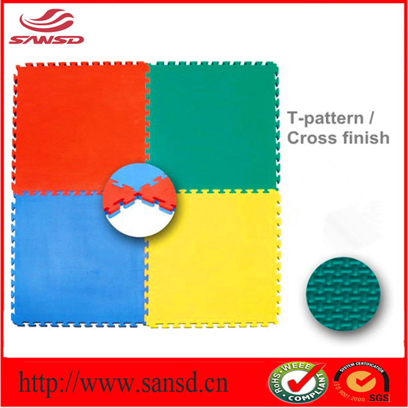 China Rubber EVA Puzzle Sheet Floor Mat Carpet with ABC for Underlay ...