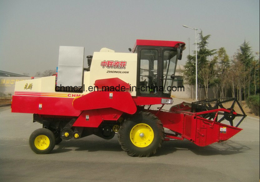 4lz-8 Wheel Type Paddy Combine Harvester pictures & photos