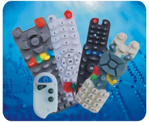 Waterproof TV Remote Control Conductive Silicone Rubber Keypads pictures & photos