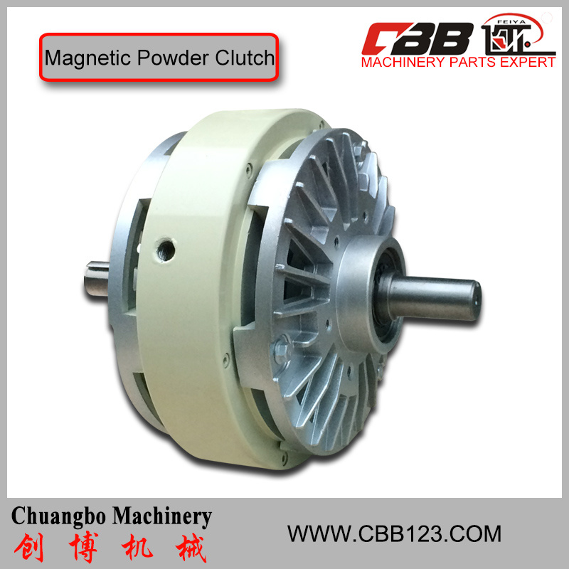 Double-Shaft Magnetic Powder Clutch for Machine