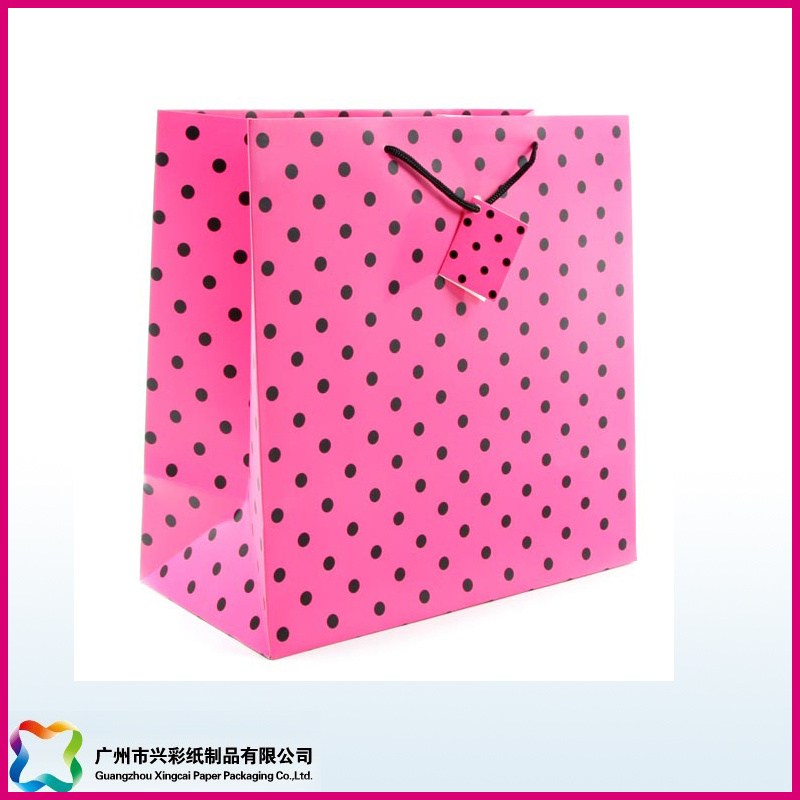 Customized Luxury Promotion Gift Paper Packaging Hand Bags