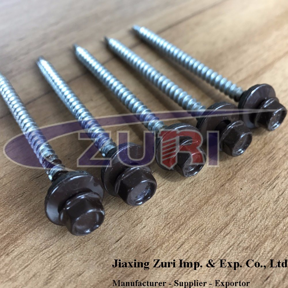Roofing Screw 4.8X50 Ral 8017 pictures & photos