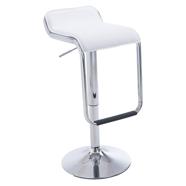 Fantastic Hot Item Contemporary Chrome Air Lift Adjustable Barber Swivel Club Outdoor Leisure Bar Stool Short Links Chair Design For Home Short Linksinfo