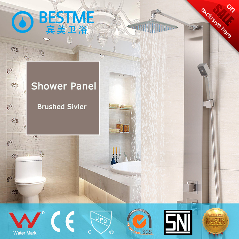 Hot Selling Three Function Stainless Steel Shower Panel (BF-W015) pictures & photos