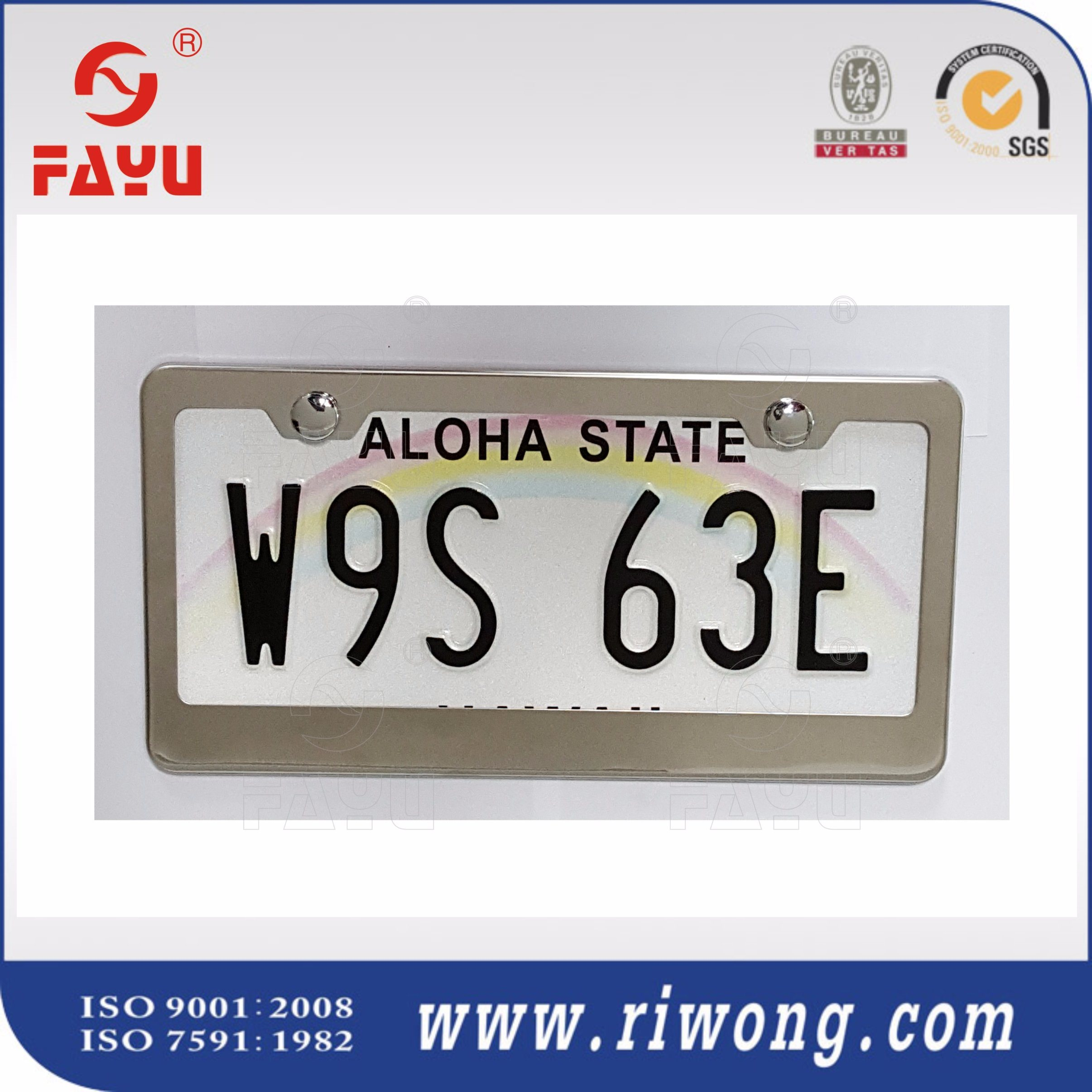 China Custom License Plate Frames Wholesale - China License Plate ...