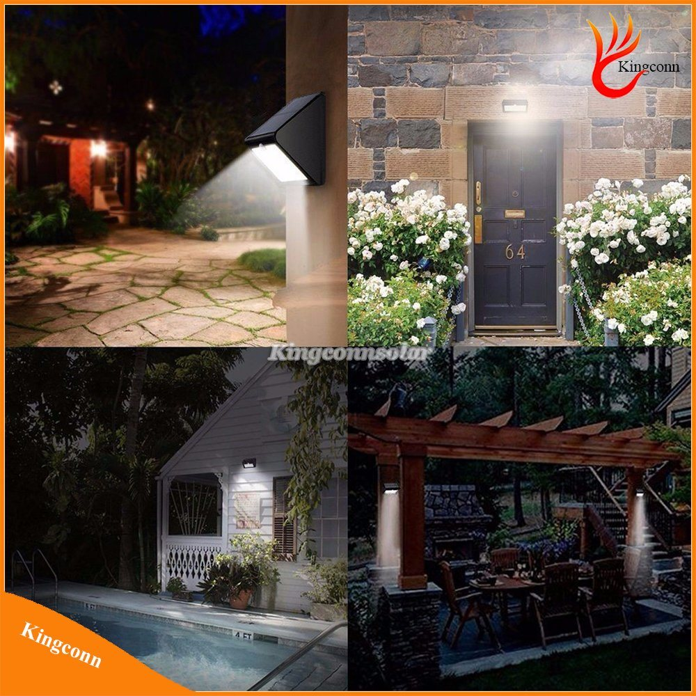 800lm 4in1 Motion Sensor Modes Garden Solar Security Night Light pictures & photos
