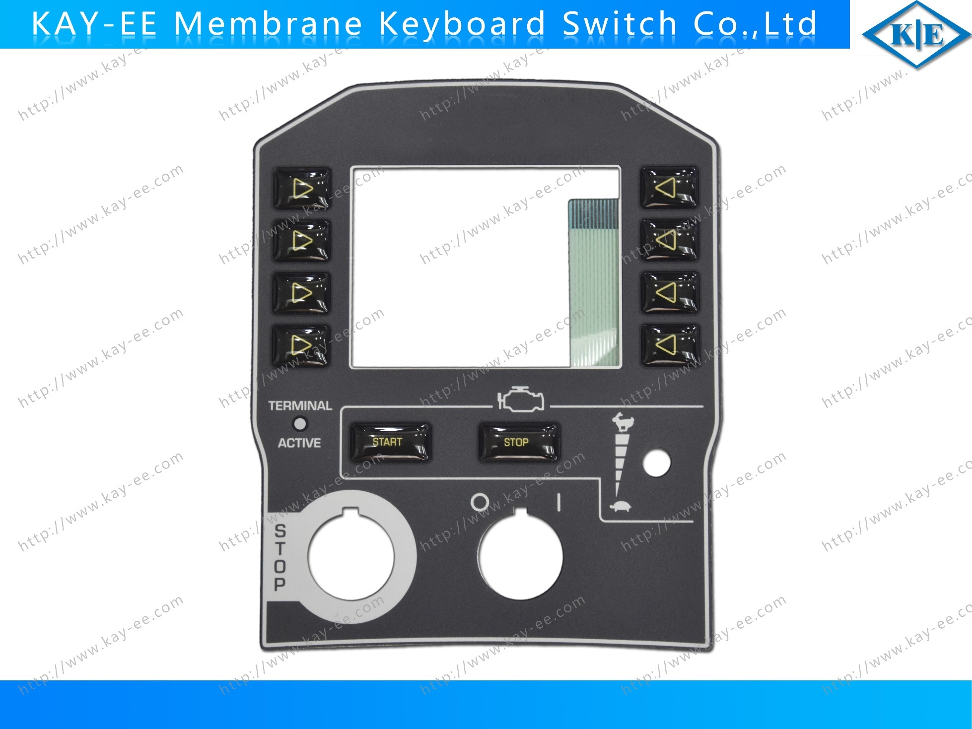 Industrial Rubber Resin Button LED Membrane Switch pictures & photos