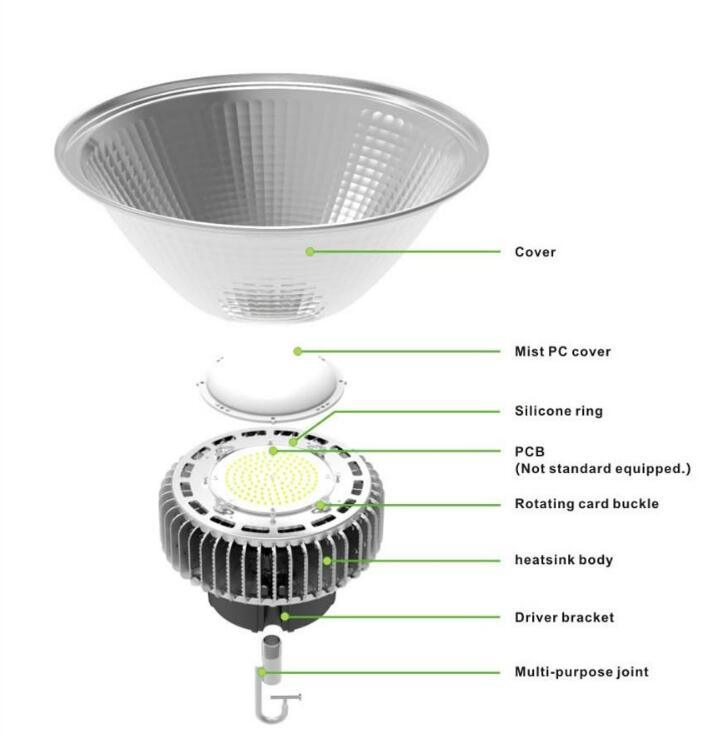 Top Quality High Power LED High Bay Light Manufacturer pictures & photos