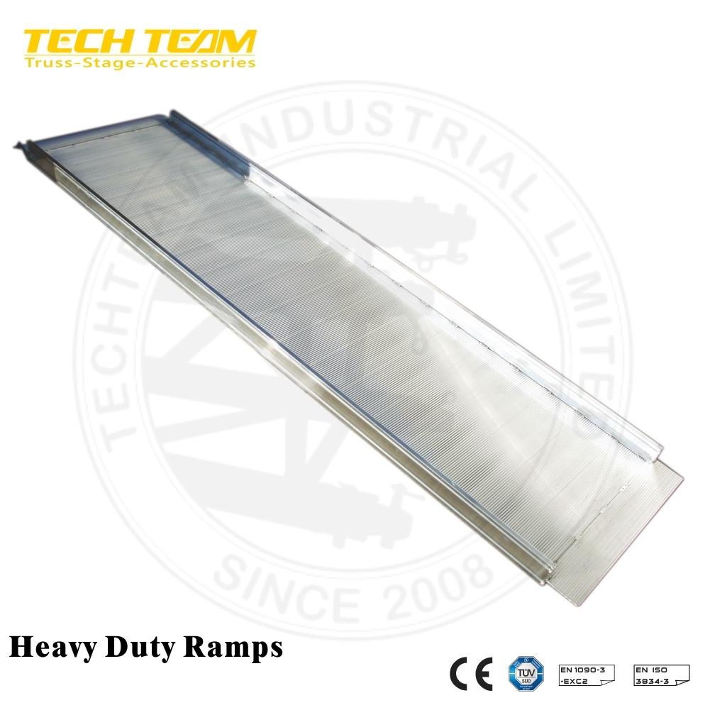 Aluminum Folding Ramps >> Hot Item Lightweight Wheelchair Truck Aluminum Folding Ramp