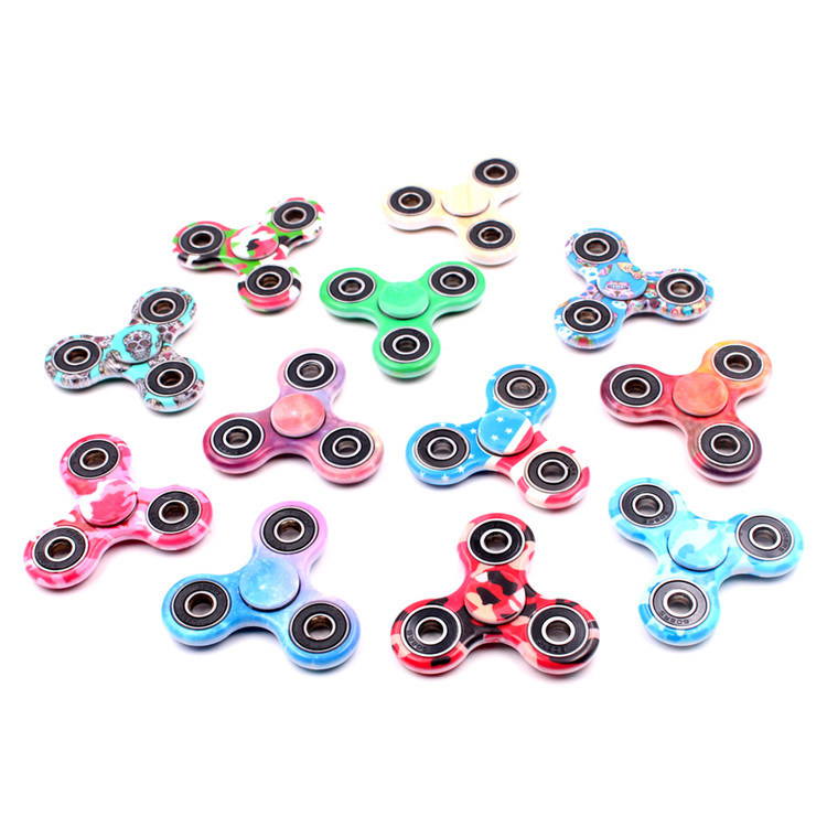 Hot Sale Tri-Spinner Fidget Toy EDC Hand Finger Fidget Spinner LED Hand Spinner pictures & photos