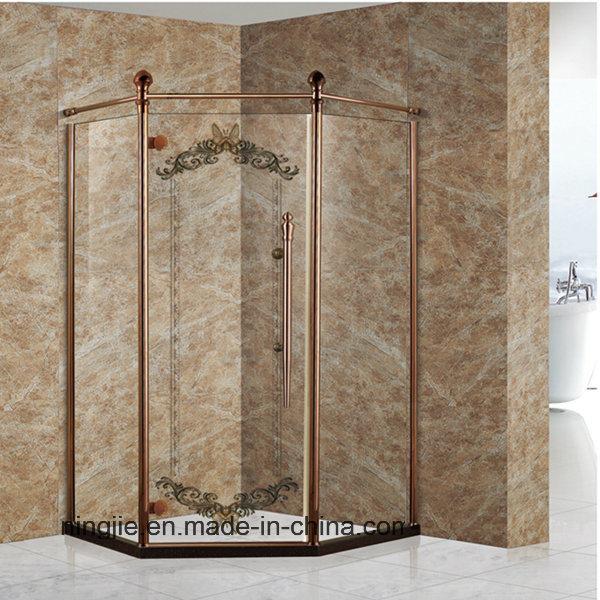China Diamond Shape Tempering Glass Shower Enclosure (022G) Photos ...