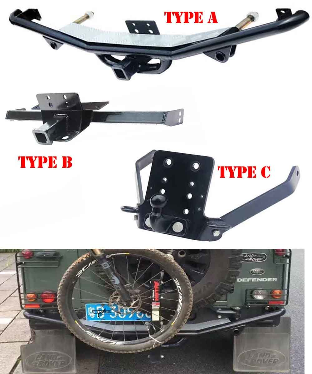 rover runner discovery land hitch landrover by tow bar en front be