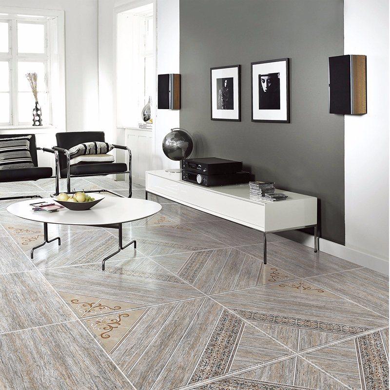 China 600x600mm Bedroom Non Slip Glazed Rustic Porcelain Floor Tile
