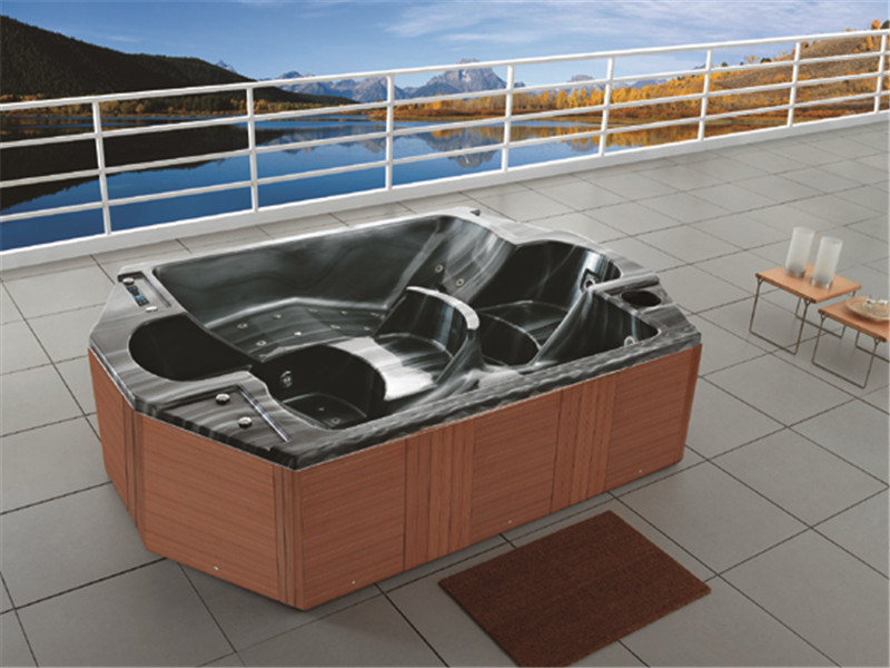 China Factory Price Outdoor Jacuzzi Bathtub Freestanding SPA (M-3339 ...