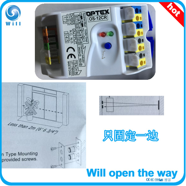 [Hot Item] Optex OS-12cr Safety Sensor