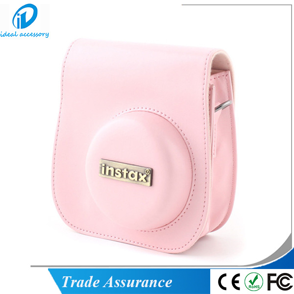 PU Leather Fujfiilm Instax Mini8 Plus Camera Shoulder Bag Case