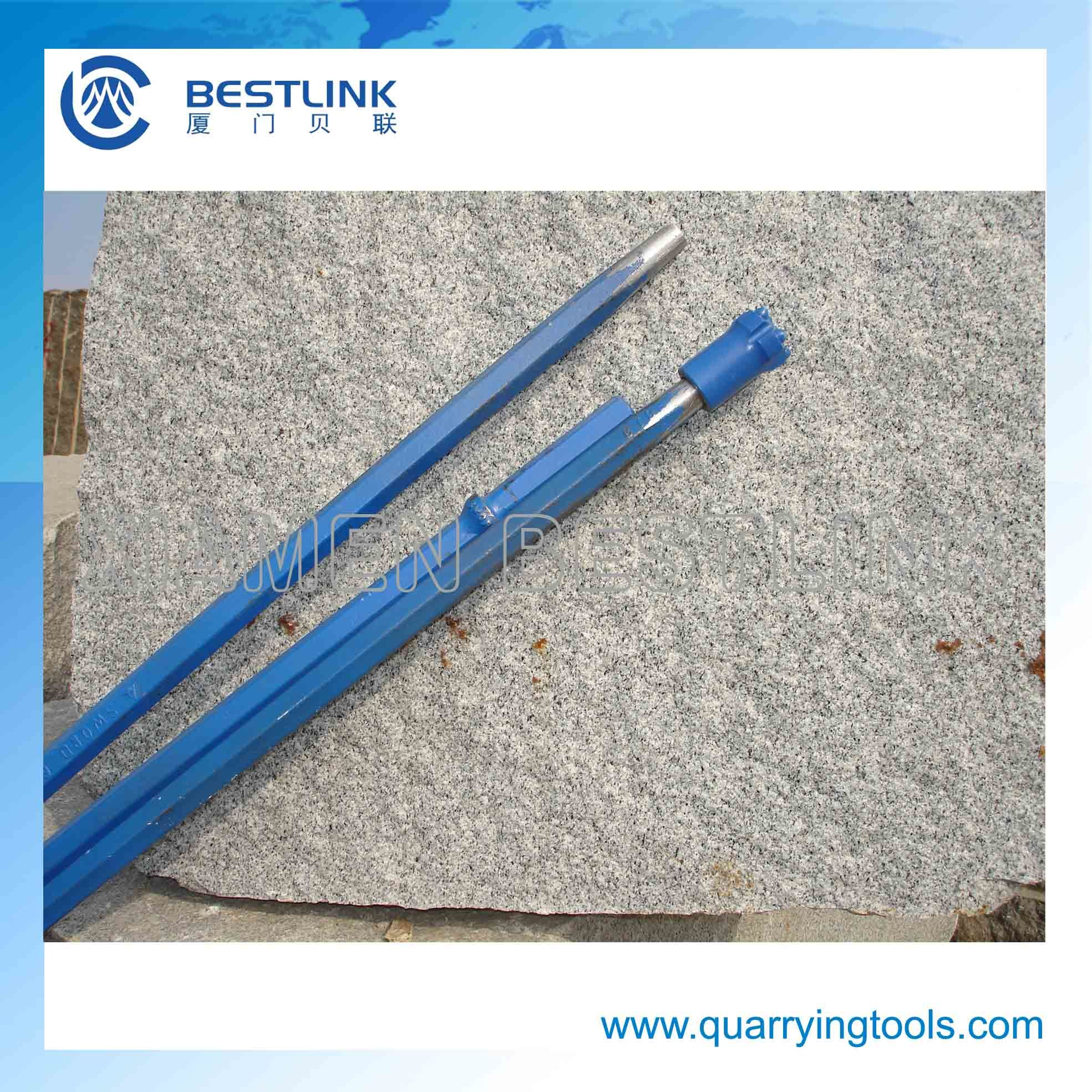 Hex Shank 108mm Taper Drill Rod for Button Drill Bits pictures & photos