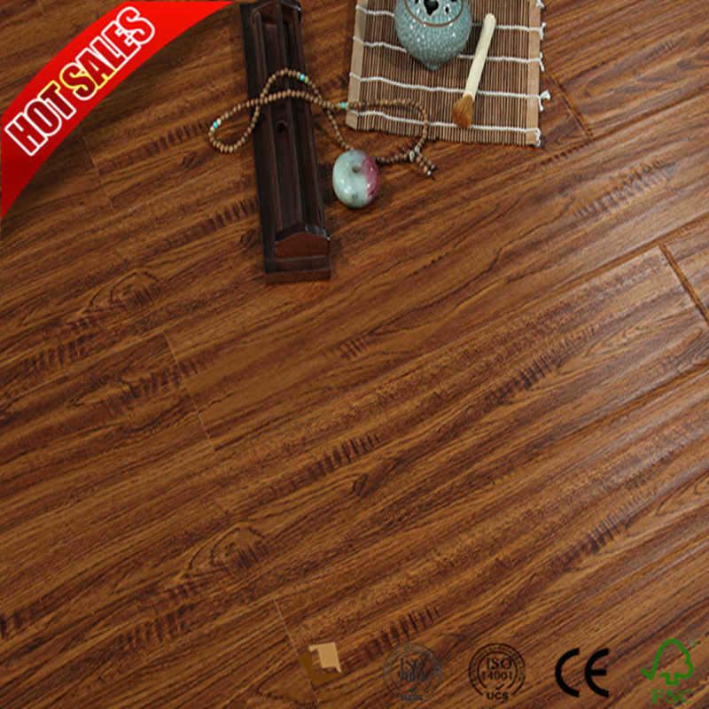 China Top Laminate Flooring Brands With Um Embossed Hardwood Building Material