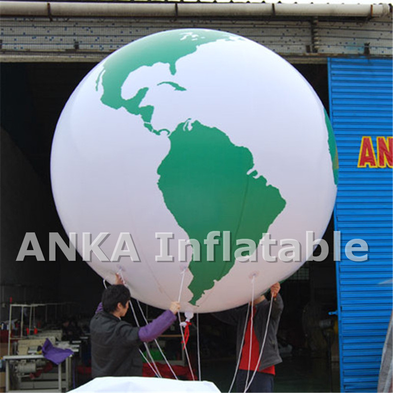 Inflatable Advertising Large Earth Balloon for Trade Fair