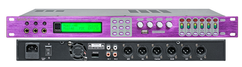 Professional Digital Echo Processor Effector (X6)