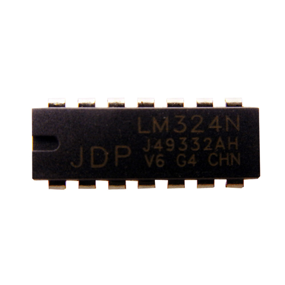 China High Quality Quad Operational Amplifier Lm324n Ic For Pcb Circuit Electrical Components