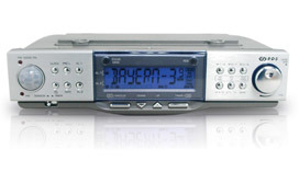 Kitchen Clock Radio With PLL, RDS And Moving Sensor